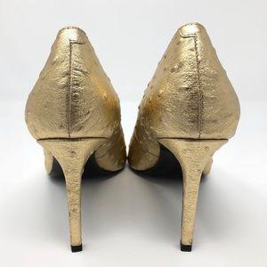 Banana Republic Shoes - Banana Republic Gold Madison Pump